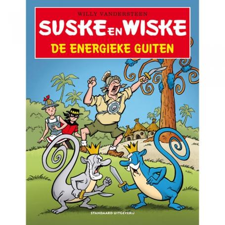 Suske en Wiske - De energieke guiten (2020)