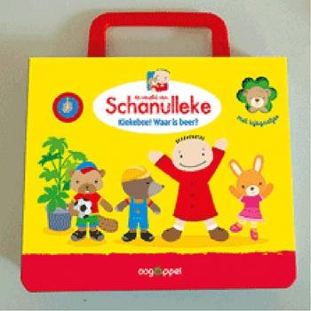 Schanulleke koffertje – Kiekeboe! Waar is beer?