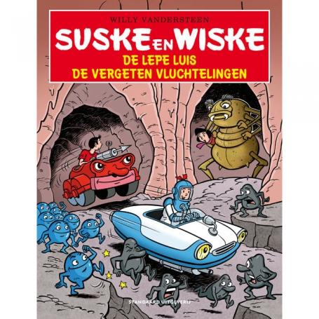 Suske en Wiske - De lepe luis / De terugkeer van de lepe luis / De barre bacterie / De vergeten vluchtelingen (2020)