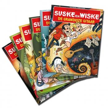 Suske en Wiske - Set SOS Kinderdorpen Nederland (B-KEUZE)