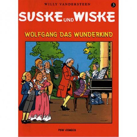 Suske en Wiske - Duits nr.03 – Wolfgang das Wunderkind