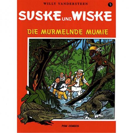 Suske en Wiske - Duits nr.05 – Die murmelnde Mumie