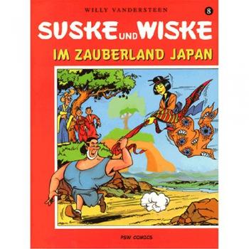 Suske en Wiske - Duits nr.08 – Im Zauberland Japan