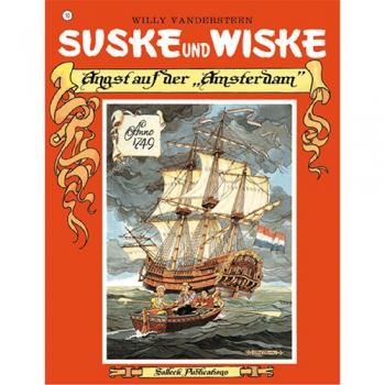Suske en Wiske - Duits nr.10 – Angst auf der Amsterdam