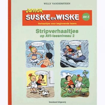 Junior Suske en Wiske - Stripverhaaltjes op AVI-leesniveau 2