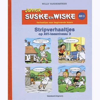 Junior Suske en Wiske - Stripverhaaltjes op AVI-leesniveau 3