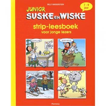 Junior Suske en Wiske - Strip-leesboek voor jonge lezers