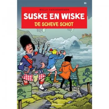Suske en Wiske 355 - De scheve Schot
