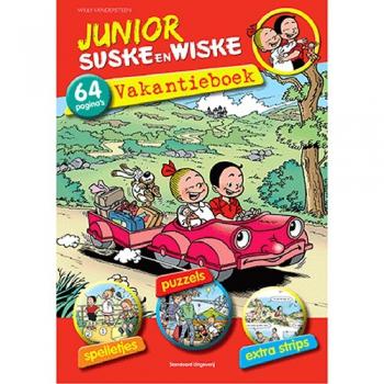 Junior Suske en Wiske - Vakantieboek 2014