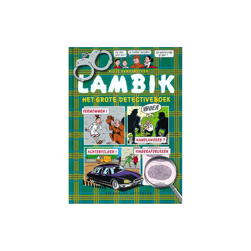 Lambik - Het grote detectiveboek