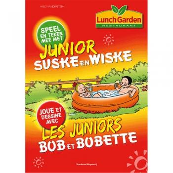 Junior Suske en Wiske - Spelletjesboekje Lunch Garden