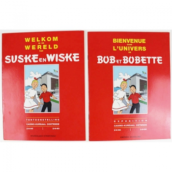 Welkom in de wereld van Suske en Wiske NL+FR