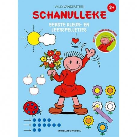Schanulleke - Eerste kleur- en leerspelletjes
