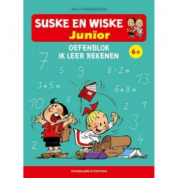 Suske en Wiske Junior - Oefenblok Ik leer rekenen