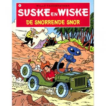 Suske en Wiske 93 - De snorrende Snor