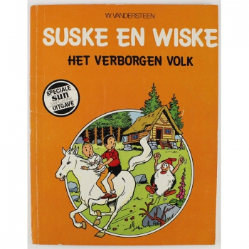 Suske en Wiske - Toffe Tiko / Het verborgen volk (Sun)