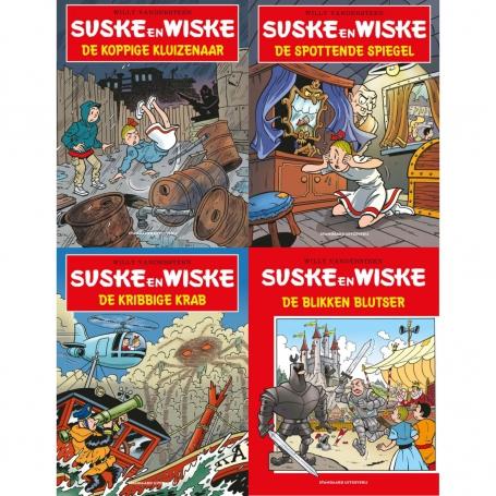 Suske en Wiske - Kruidvat set 4 delen 2021