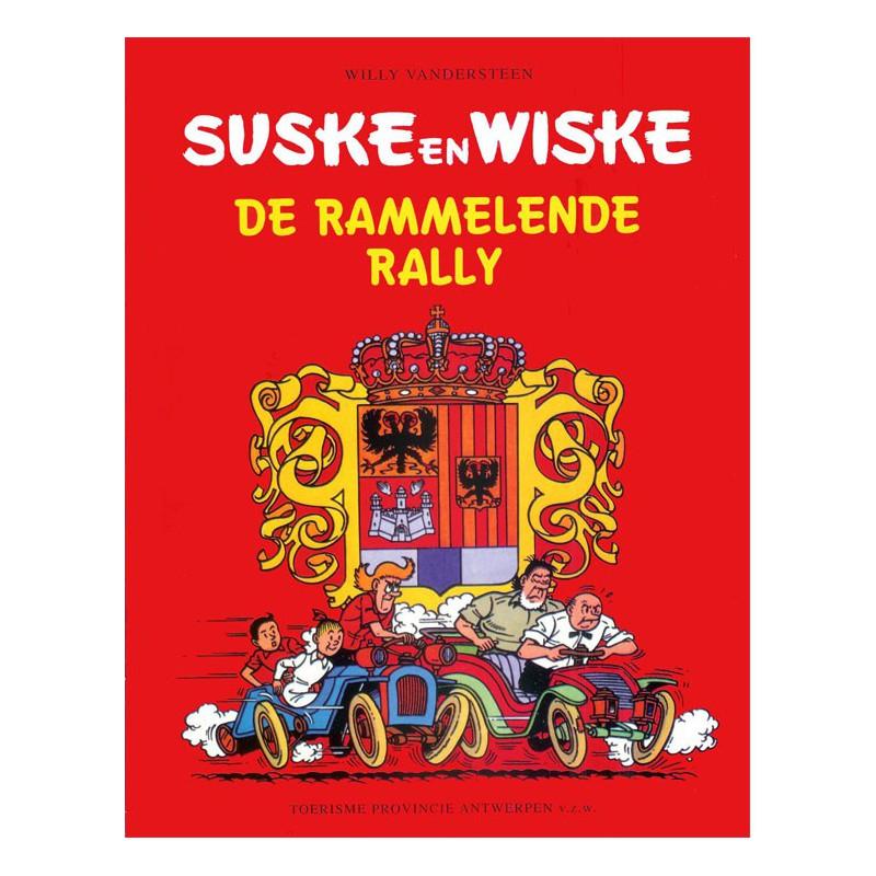 Suske en Wiske - De rammelende rally (Toerisme Antwerpen)