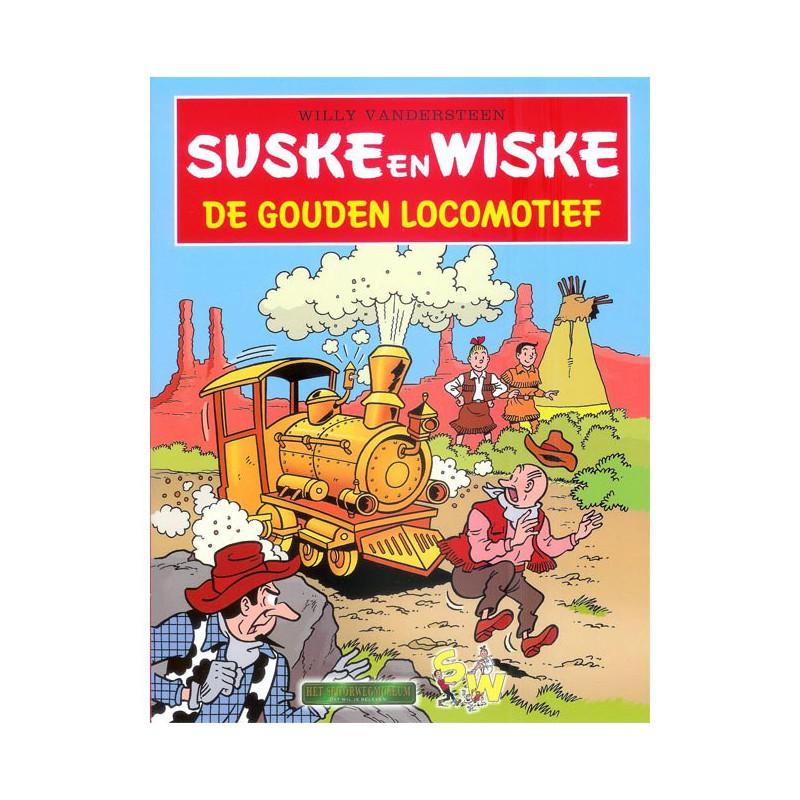 Suske en Wiske - De gouden locomotief (Fameuze Fanclub)