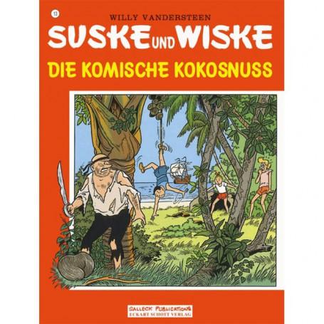 Suske en Wiske - Duits nr.13 - Die komische Kokosnuss