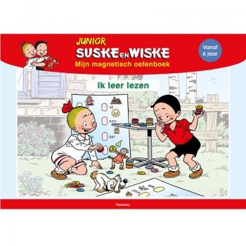 Junior Suske en Wiske - Magnetisch oefenboek Lezen