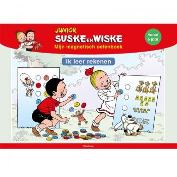 Junior Suske en Wiske - Magnetisch oefenboek Rekenen