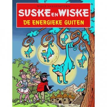 Suske en Wiske - De energieke guiten (Stripgeschenk)