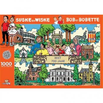 Suske en Wiske puzzel Reet 700 jaar