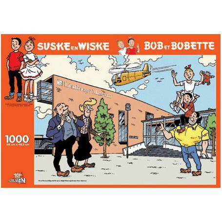 Suske en Wiske puzzel Limburgs Museum