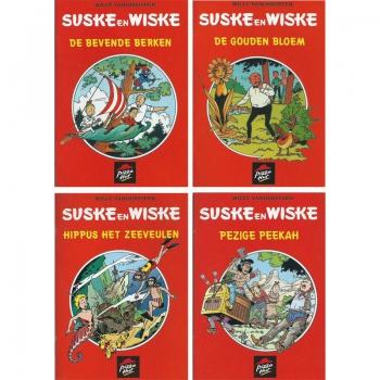 Suske en Wiske - Pizza Hut mini albums set 4st