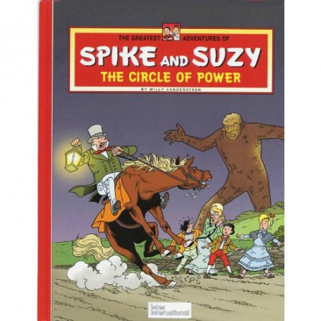 Spike and Suzy – The circle of power HC