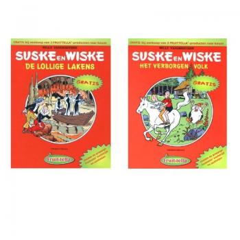 Suske en Wiske - Fruittella set 2 albums (2004)