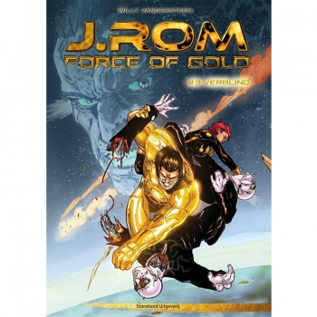 J.Rom Force of Gold 3 - Verblind (hardcover)