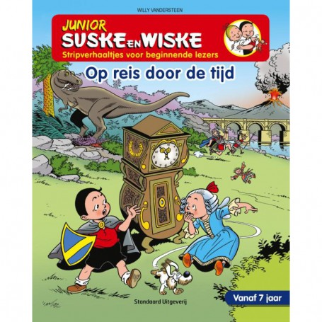 Junior Suske en Wiske 11 - Op reis door de tijd