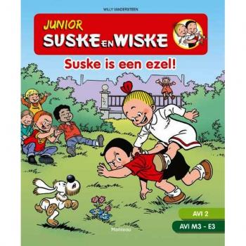 Junior Suske en Wiske - Suske is een ezel! AVI 2