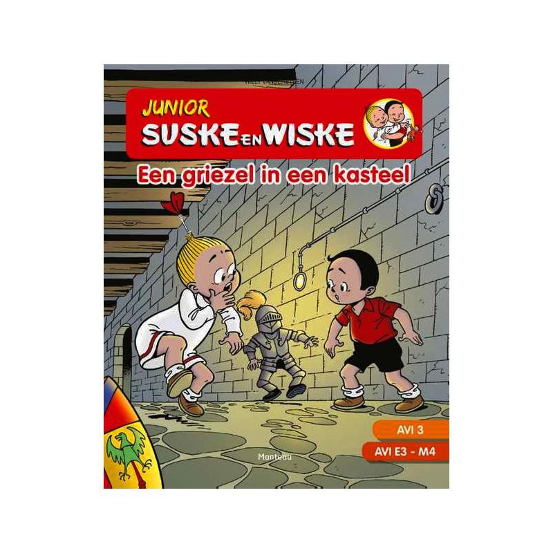 Junior Suske en Wiske - Een griezel in een kasteel AVI 3