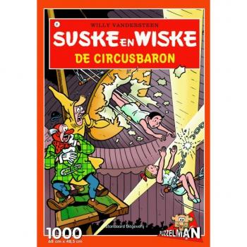Suske en Wiske puzzel De circusbaron