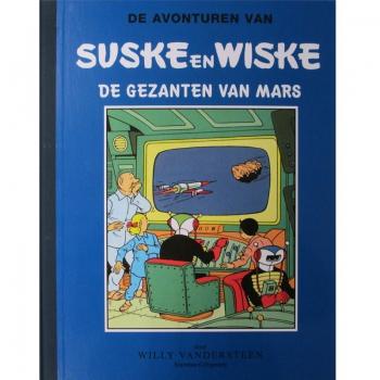 Suske en Wiske - De gezanten van Mars (blauw groot formaat)