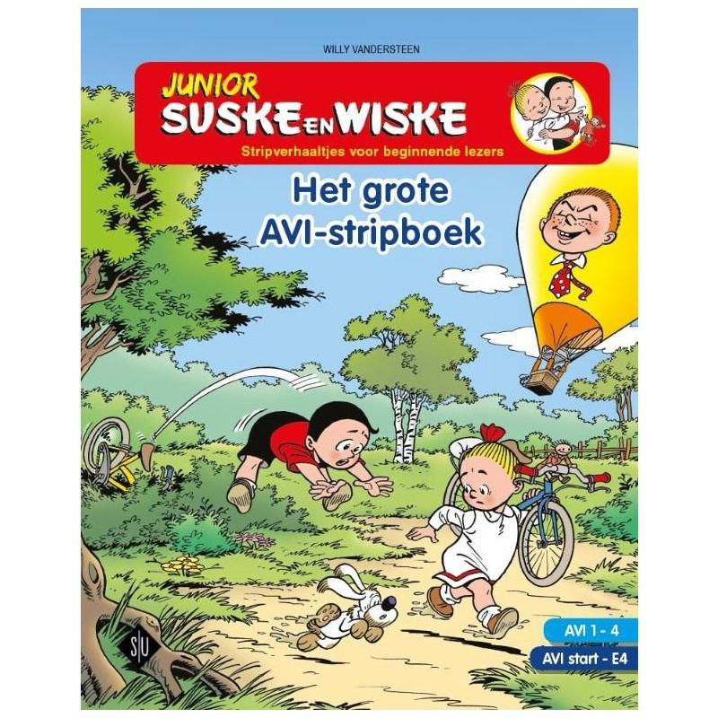 Junior Suske en Wiske – Het grote AVI-stripboek 1-4