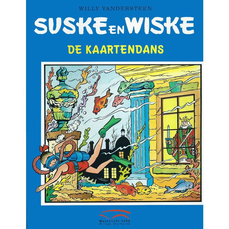 Suske en Wiske - De kaartendans (Bridge Olympiade)