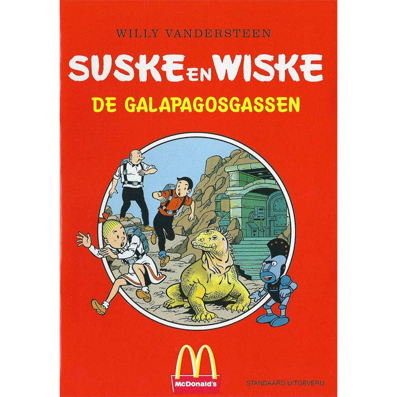 Suske en Wiske - De Galapagosgassen (McDonalds)