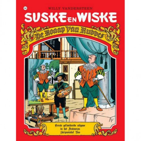 Suske en Wiske - De roaap van Rubbes (Antwerps)