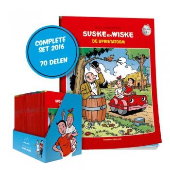 Suske en Wiske - Box Het Laatste Nieuws 70-delig (2016)