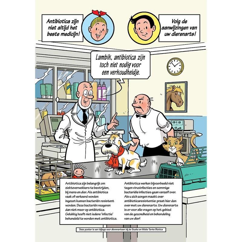 Suske en Wiske - Poster Tante Biotica
