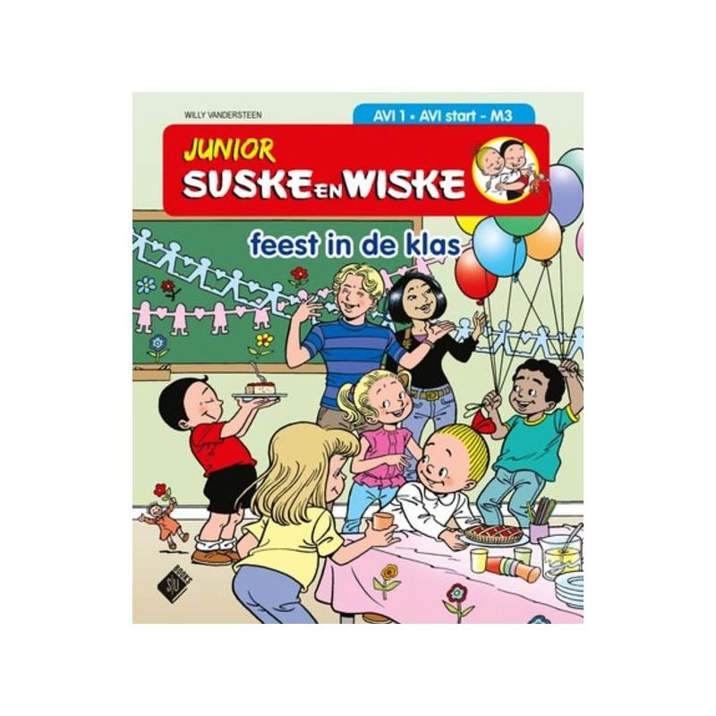 Junior Suske en Wiske - Feest in de klas (AVI 1)