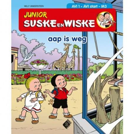 Junior Suske en Wiske - Aap is weg (AVI 1)