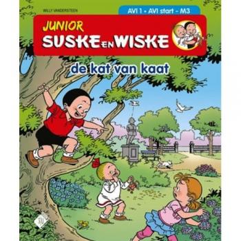Junior Suske en Wiske - De kat van Kaat (AVI 1)