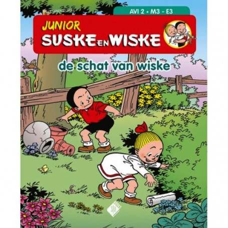 Junior Suske en Wiske - De schat van Wiske (AVI 2)