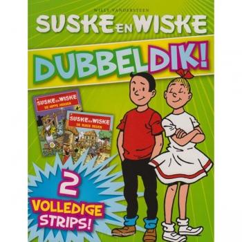 Suske en Wiske - Dubbeldik (groen)