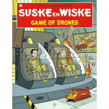 Suske en Wiske 337 - Game of drones